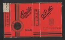 Israel Collectible Old cigarette packets Bonitas # 683